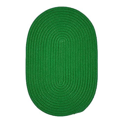 Boca Raton BR60R048X072 Rugs, 4 x 6 , Leaf Green