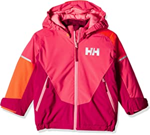370a7c440 Amazon.com : Helly Hansen Jr Waterproof Cascade Ski Jacket, Cabernet ...