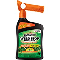 Spectracide Weed Stop For Lawns Plus Crabgrass Killer Concentrate, Ready-to-Spray, 32-Ounce