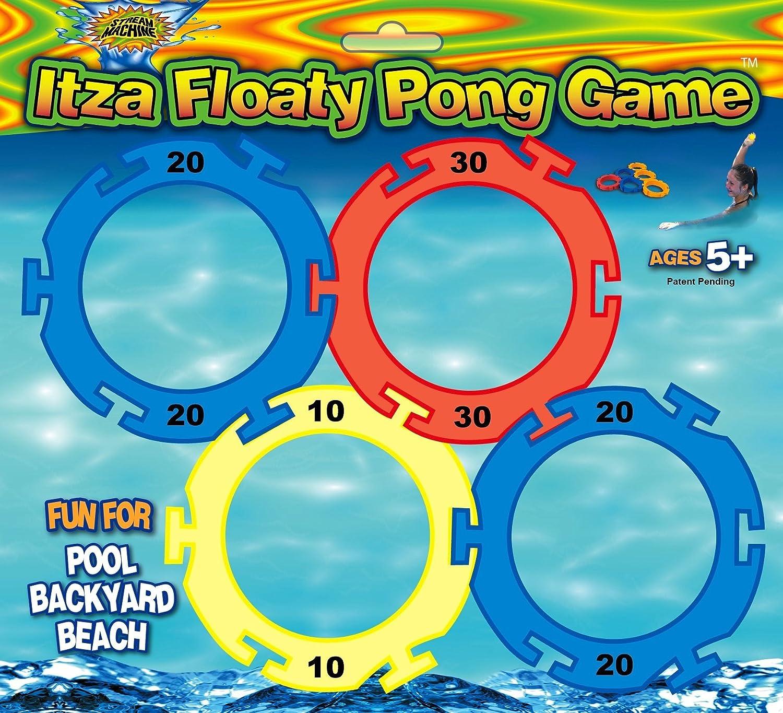 amazon com water sports itza floaty pong backyard and pool game