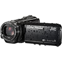 JVC GZ-RX601BEU Videocamera Full HD QUAD PROOF, fotocamera 10 Megapixel, Wi-Fi, memoria integrata da 8GB, software in dotazione, Nero