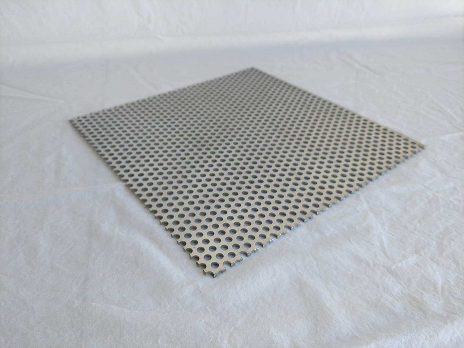 Aluminum Perforated Sheet 12' x 48' .063 1/16' Thickness 1/4' Hole 3/8' Stagger Kay Enterprise