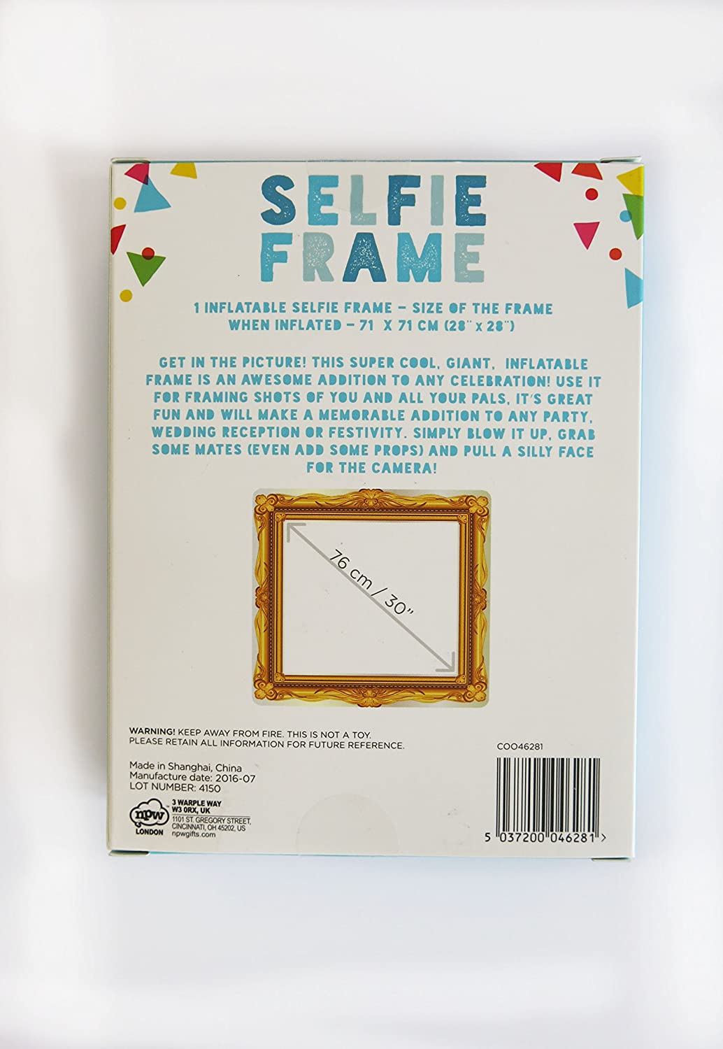 NPW Inflatable Photo Booth Selfie Frame Prop - Inflatable Selfie ...