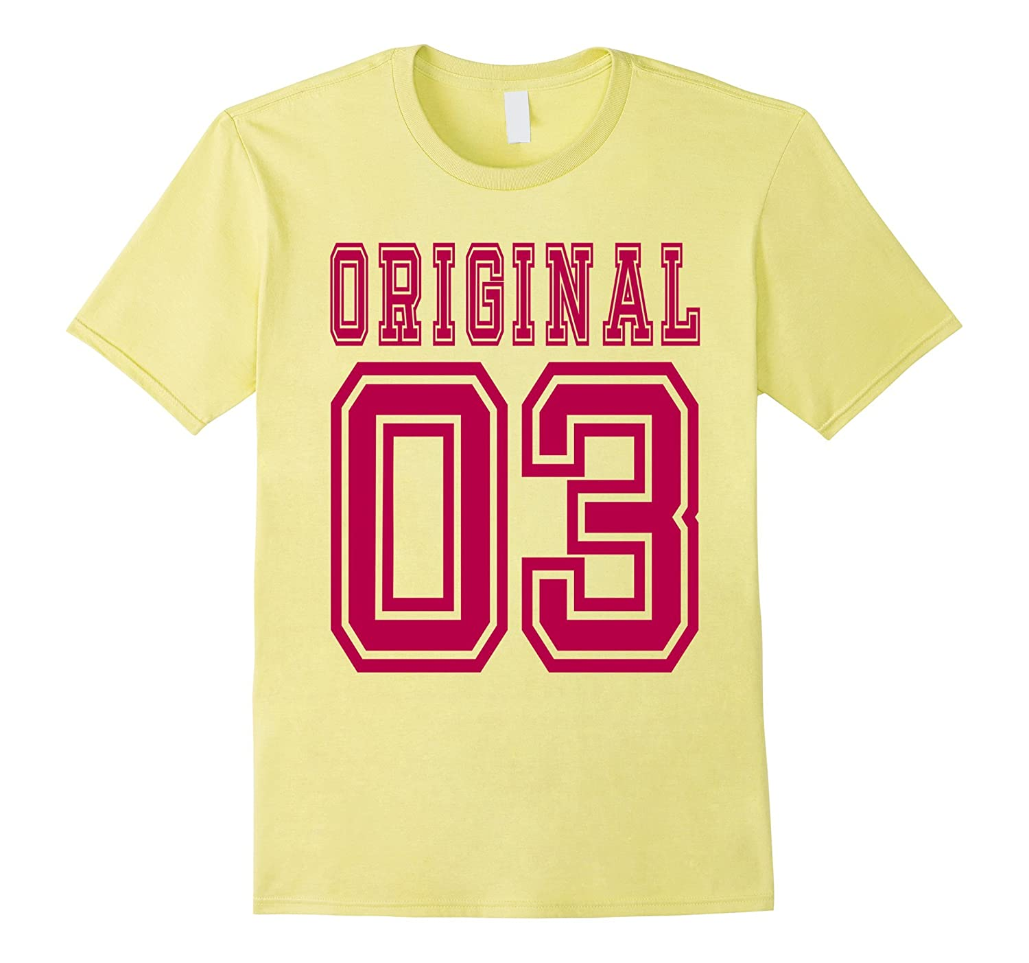 13th Birthday Gift Idea 13 Year Old Girl Shirt 2003 Tee C BN