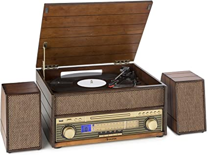 auna Belle Epoque 1909 • Equipo estéreo • Tocadiscos ...