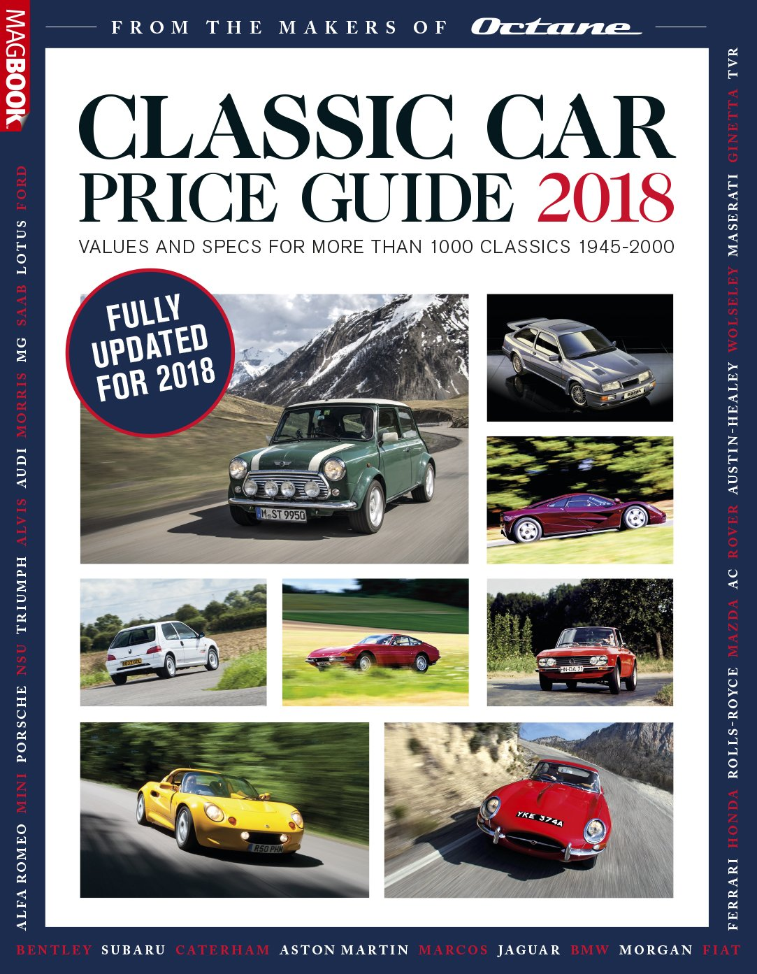 Classic Car Price Guide Amazoncouk Octane Magazine - Classic car guide