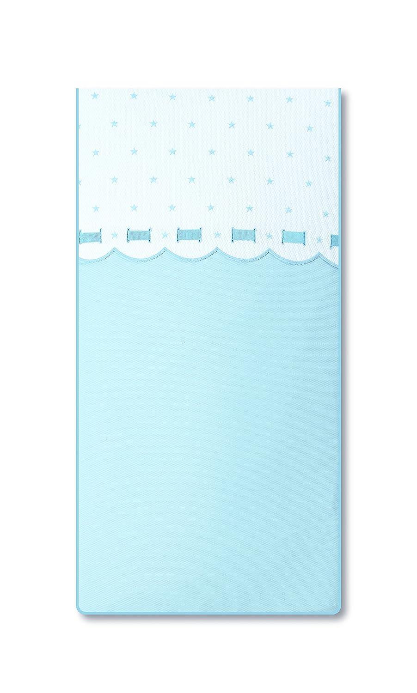 Bimbi Class–Bettbezug, 62x 125cm, Farbe Weiß und Blau