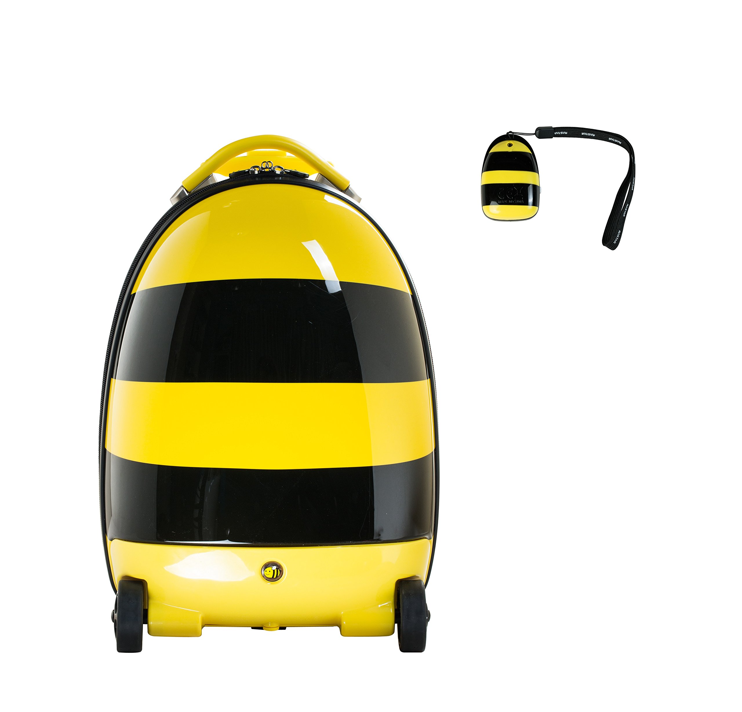 Rastar Kids' R/c Luggage-Bee, Yellow