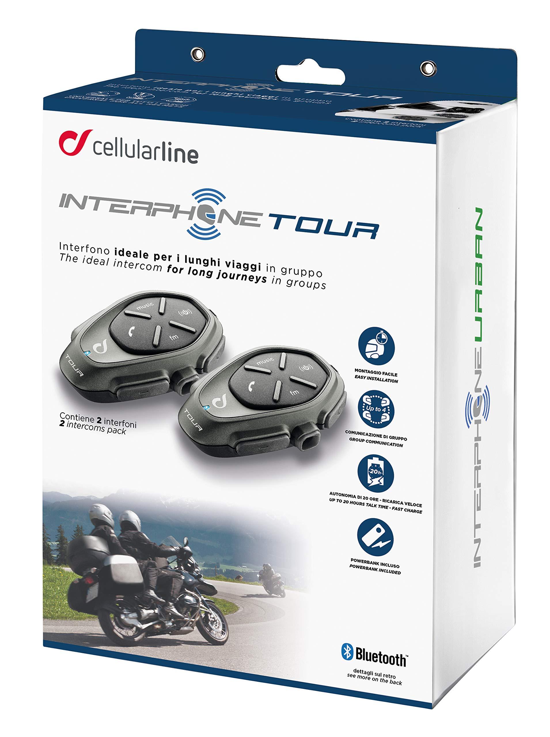 Interphone Tour Intercom Pack (2 pk) by Interphone
