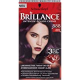 Schwarzkopf Brillance Intensiv-Color-Creme 888 Dunkle Kirsche, 143 ml
