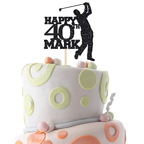 Sensational Amazon Com Personalised Golf Birthday Cake Topper With Name And Funny Birthday Cards Online Alyptdamsfinfo