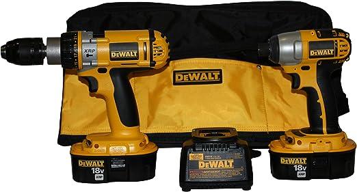 Amazon.com: DeWalt dck988 X 18-volt XRP martillo taladro ...
