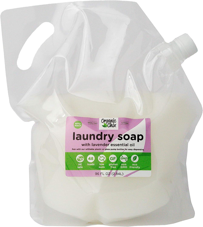 Organic Chix Laundry Soap 96oz Spout Pack