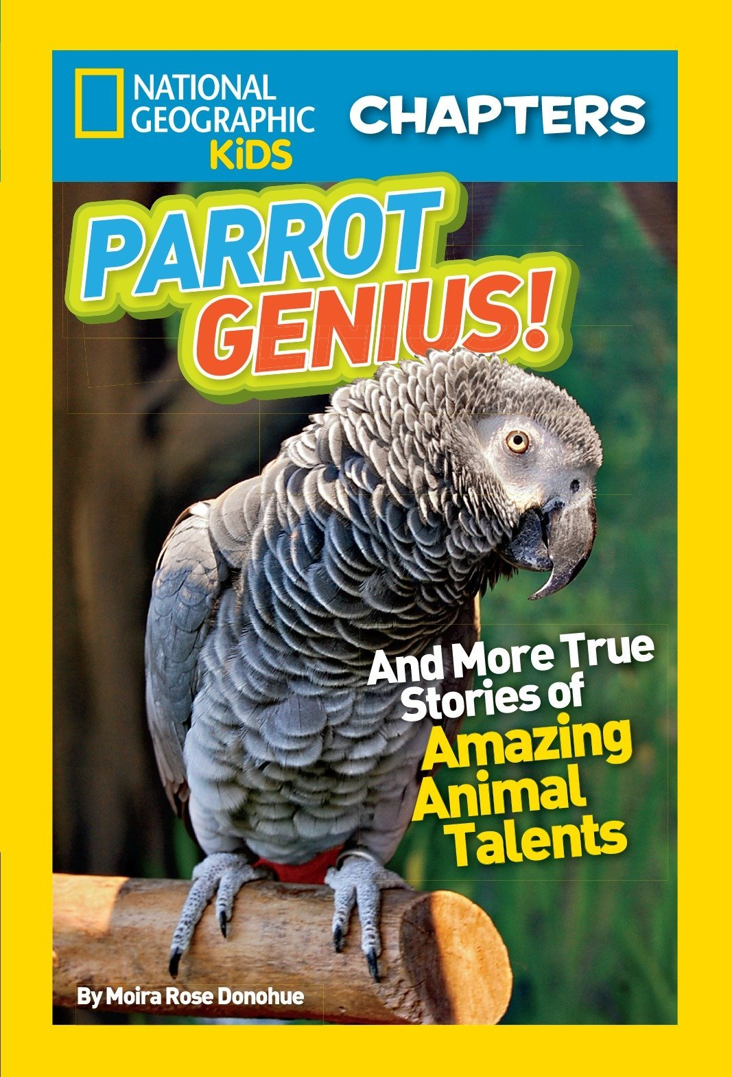 National Geographic Kids Chapters: Parrot Genius: And More True Stories of Amazing Animal Talents (NGK Chapters) pdf epub