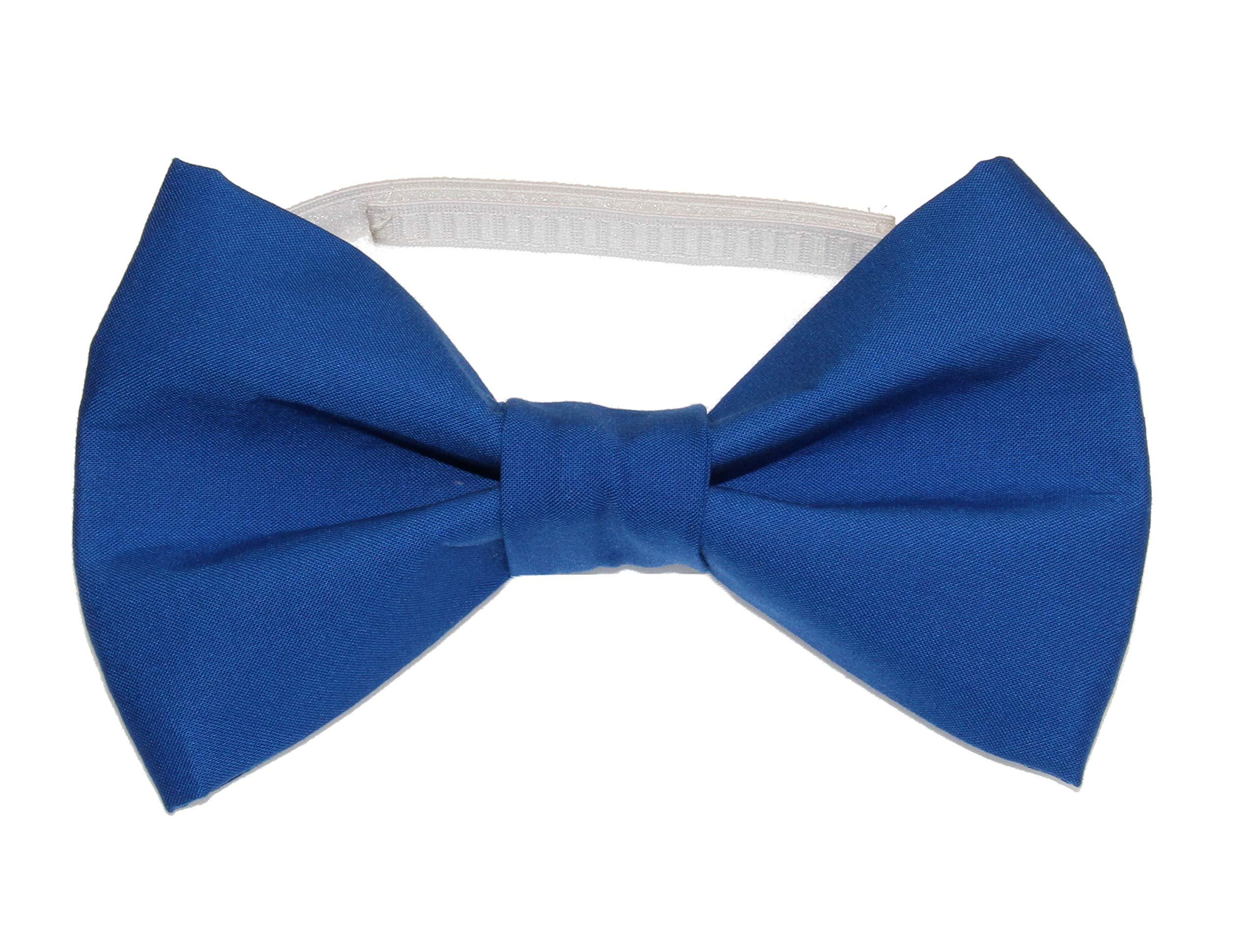 amy2004marie Royal Blue Clown Size XXL Cotton Bow Tie - Oversized Huge Bowtie 8'' x 5''