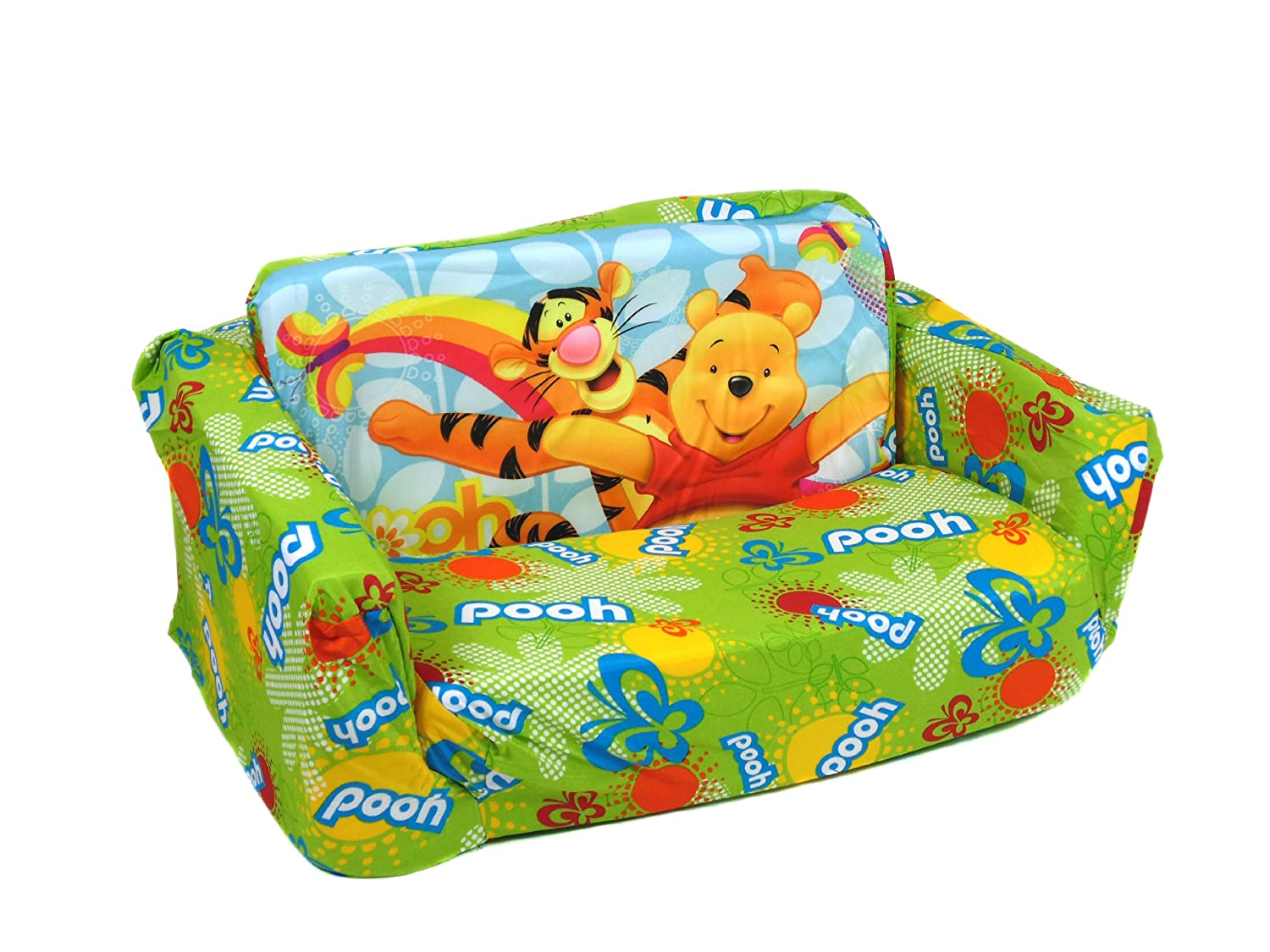 Official Winnie The Pooh And Friends Flip Out Sofa Bed Amazoncouk Kitchen Home