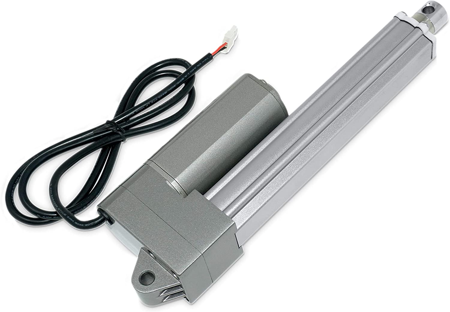 High Force Robotics| Model PA-09-8-330 12V Industrial Linear Electric Actuator // 330 lbs | Stainless Steel Rod 8 in Durable Stroke| for Marine Brushed DC Motor Automation