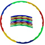 Glitter Collection (TM) Hula Hoop, Hoopa Hula, Exercise ring,Fitness, Health , HULAA