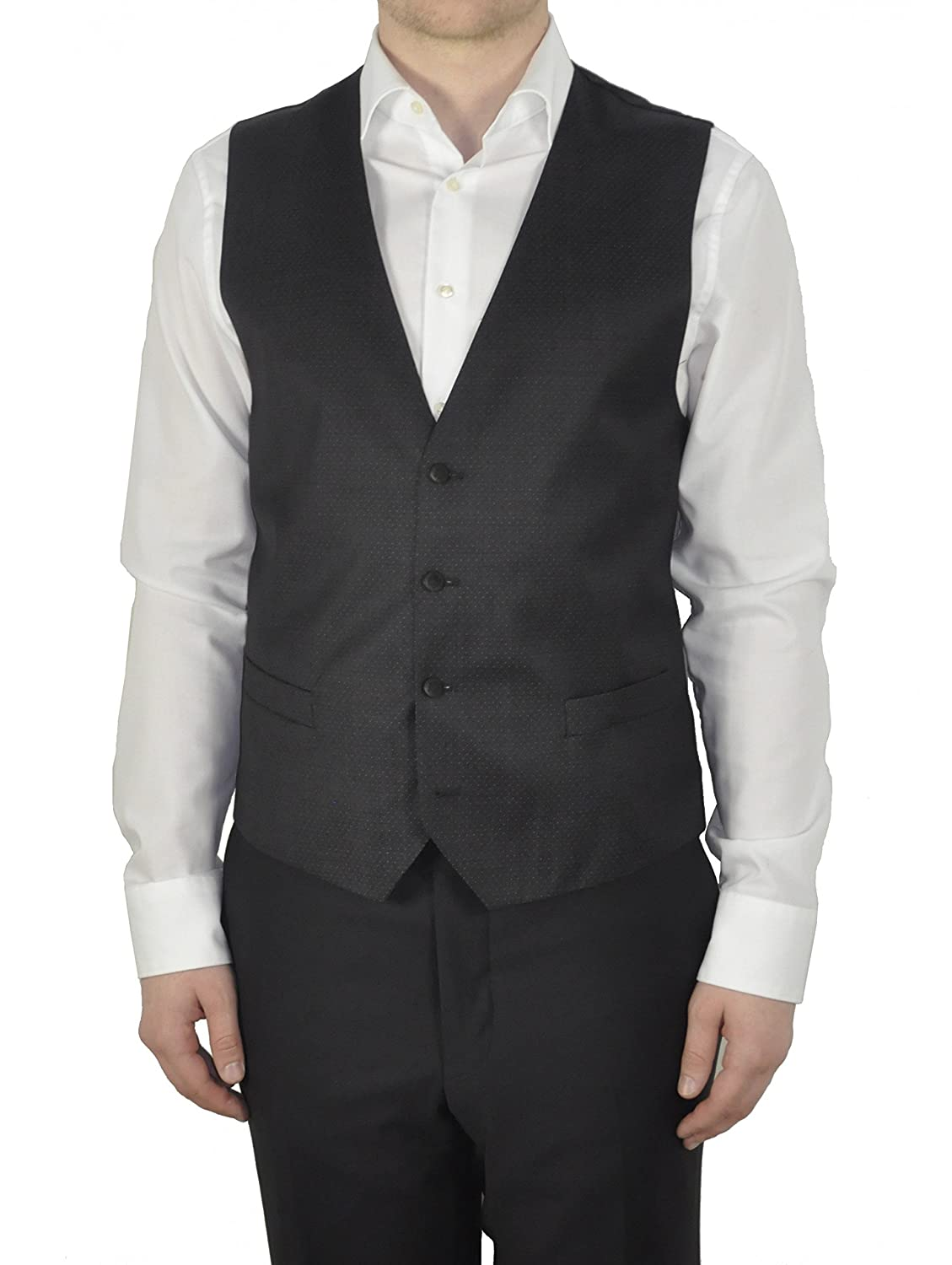 Michaelax-Fashion-Trade Men's Plain Sleeveless Waistcoat