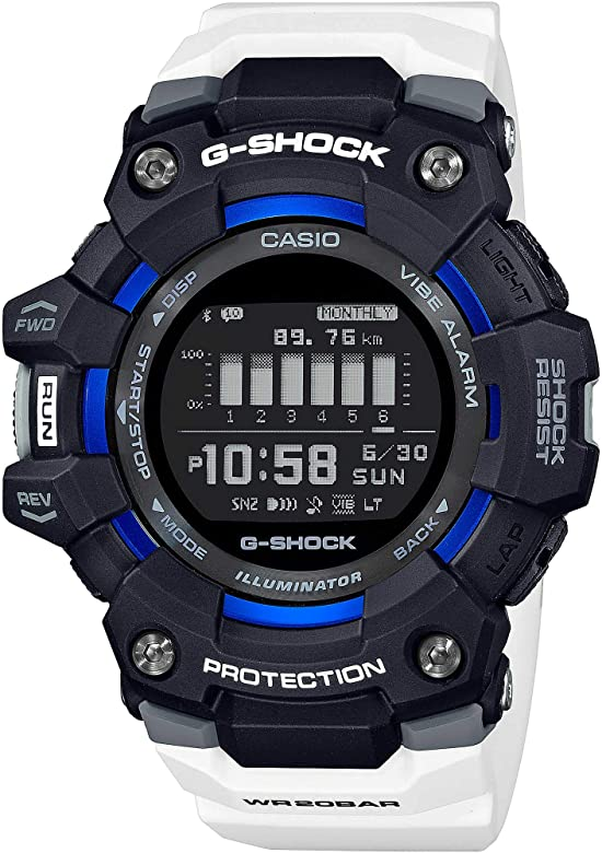 Casio G-Shock G-Squad GBD-100-1A7ER - 2020: Amazon.es: Relojes