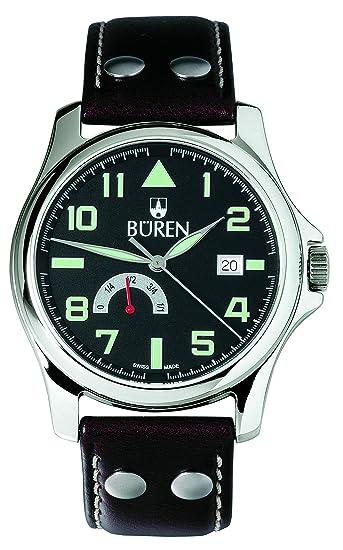 """""""aviador-uno"""" büren - Reloj de aviador para Hombre - suiza,"""