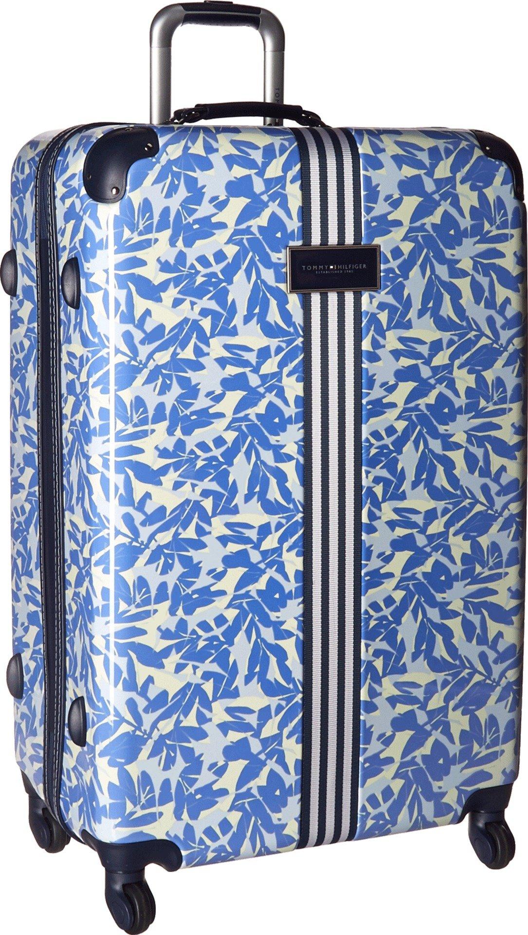 Tommy Hilfiger Unisex TH-686 Breezy Palm 29'' Upright Suitcase White One Size