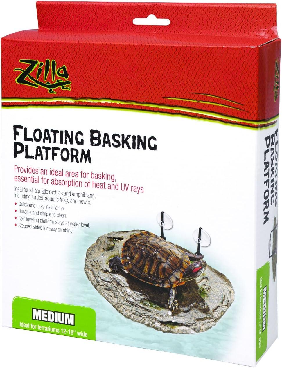 zilla floating basking platform