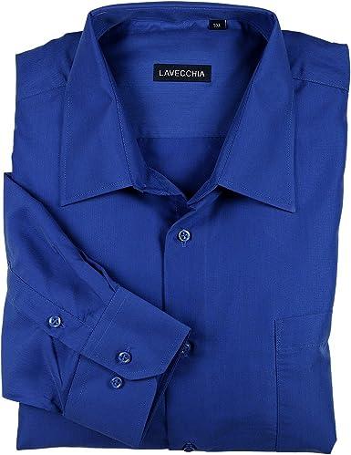 Royal camisa azul (manga larga) de hasta en grandes Lavecchia 7XL azul XXXXX-Large: Amazon.es: Ropa y accesorios