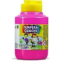 Tempera Guache 250 ml, Acrilex, 020250537, Rosa