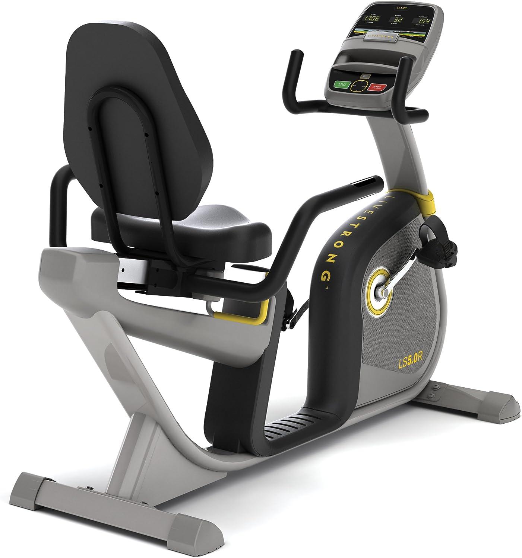 Livestrong LS5.0R - Bicicleta reclinable: Amazon.es: Deportes y aire libre
