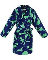 Simplicity Children's Soft Plush Long-Sleeved Bathrobe w/ Pockets