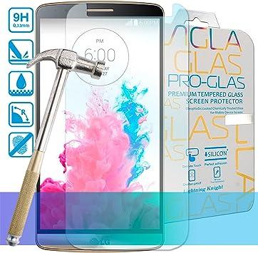 Bytelectro - Protector Pantalla CRISTAL TEMPLADO Premium LG G3 ...
