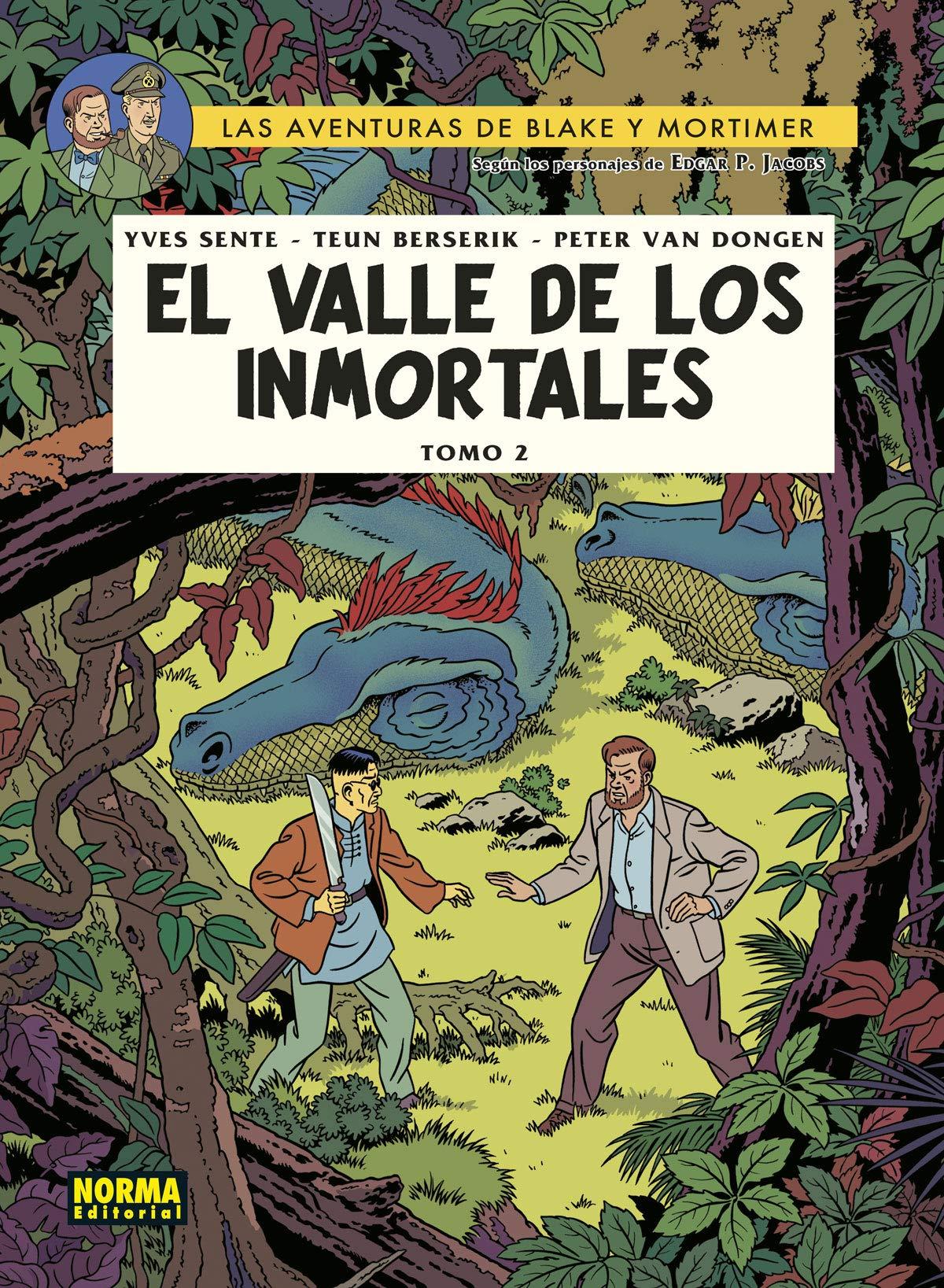 Blake y Mortimer 26. El valle de los inmortales 2: El Milésimo Brazo Del Mekong: Amazon.es: Sente, Berserik, Van Dongen: Libros