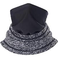 SAITAG Neck Warmer Sun Windproof Fleece Warm Face Scarf Ski Mask for Fishing Hiking
