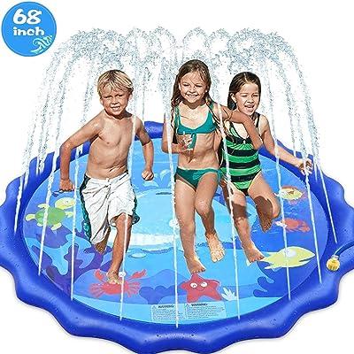 Innocheer Sprinkler Splash Pad for Kids Outdoor Play