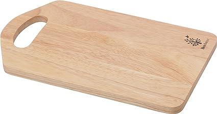 不二貿易 木製カッティングボード S ボヌール キッチン雑貨シリーズ 天然木 ナチュラル 96017