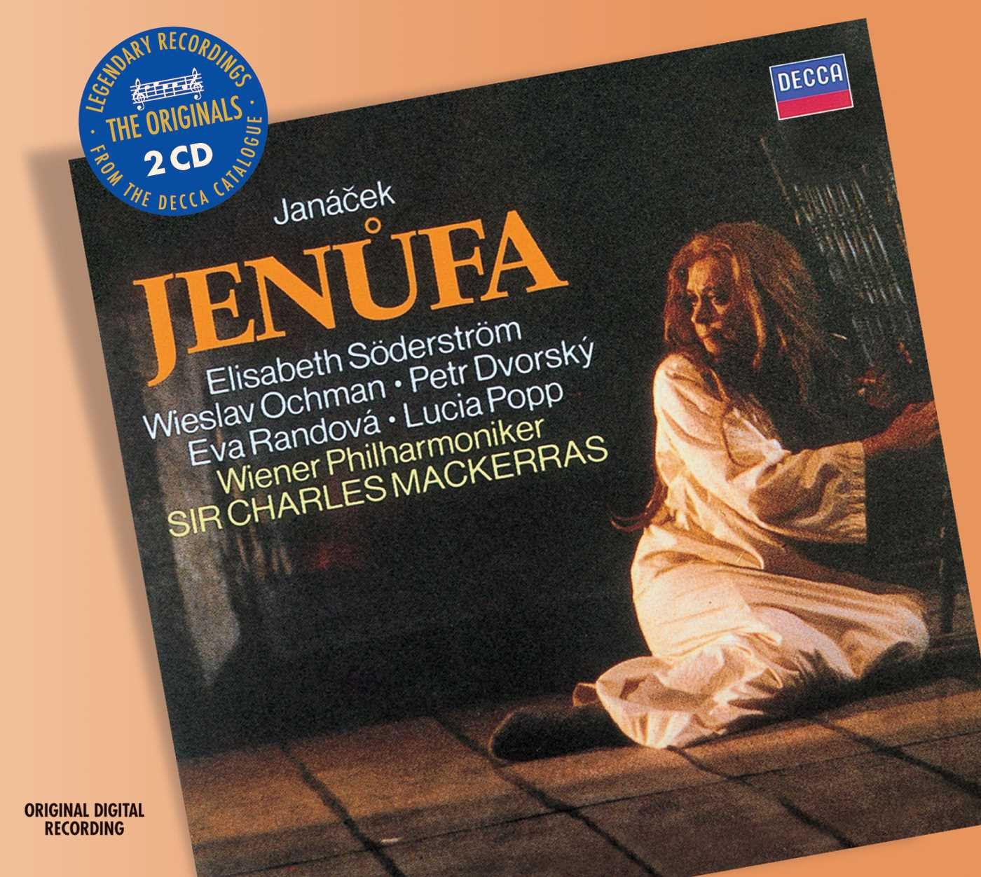 CD : Elisabeth S derstr m - Jenufa (2PC)