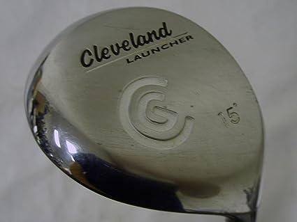 Amazon.com: Cleveland Launcher 3 Madera 15 (Grafito, Regular ...