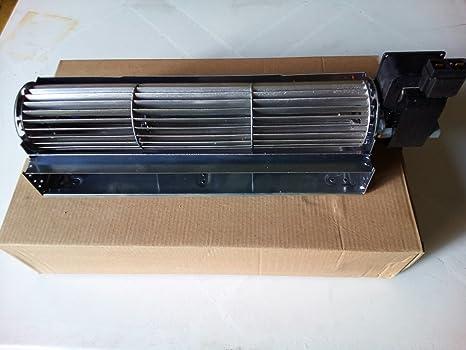 Ventilador tangencial 30 cm motor DX para estufa de la granulación, chimeneas, aparatos,