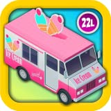 Kids Vehicles 2: Amazing Ice Cream Truck Adventure (Cupcake Maker, Counting Coins, Learning Colors, Fireworks and More) - Fun Interactive Games with Alex & Dora for Toddlers and Preschool Explorers and Little Drivers of Trucks (Abby Monkey edition)