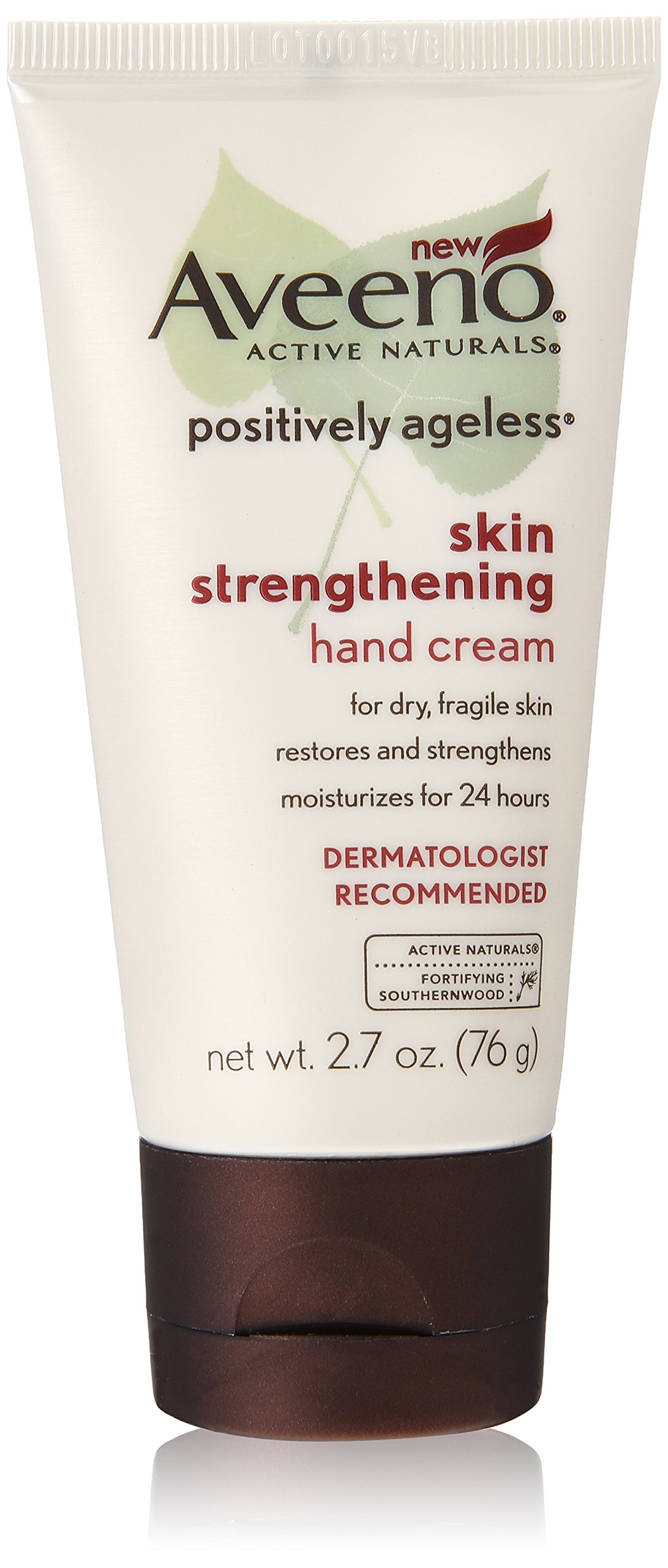 Aveeno Positively Ageless Skin Strengthening Hand Cream, 2.7 Ounce (Pack of 3) by Aveeno