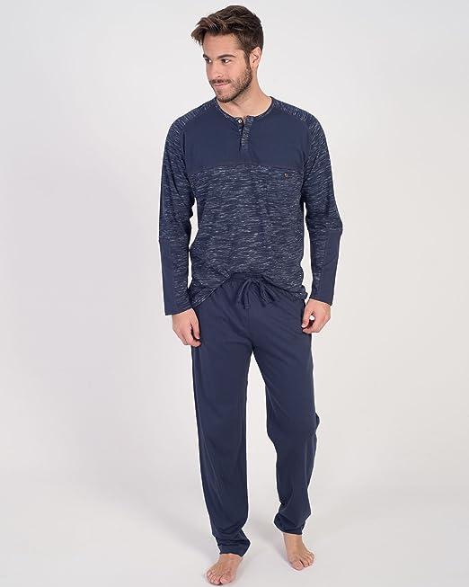 Pijama De Hombre Massana De Punto P671302 talla XXL: Amazon.es: Ropa y accesorios