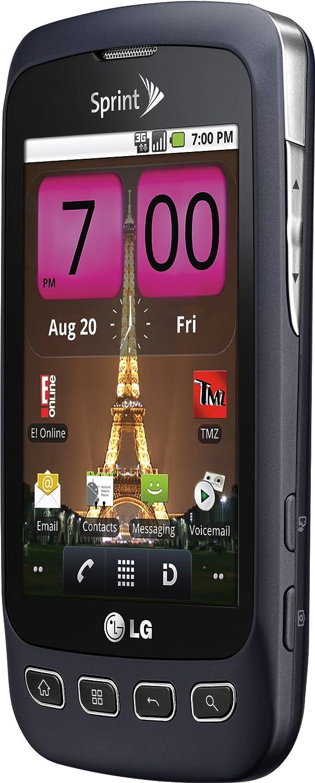 LG Optimus S Android Phone Sprint Gray