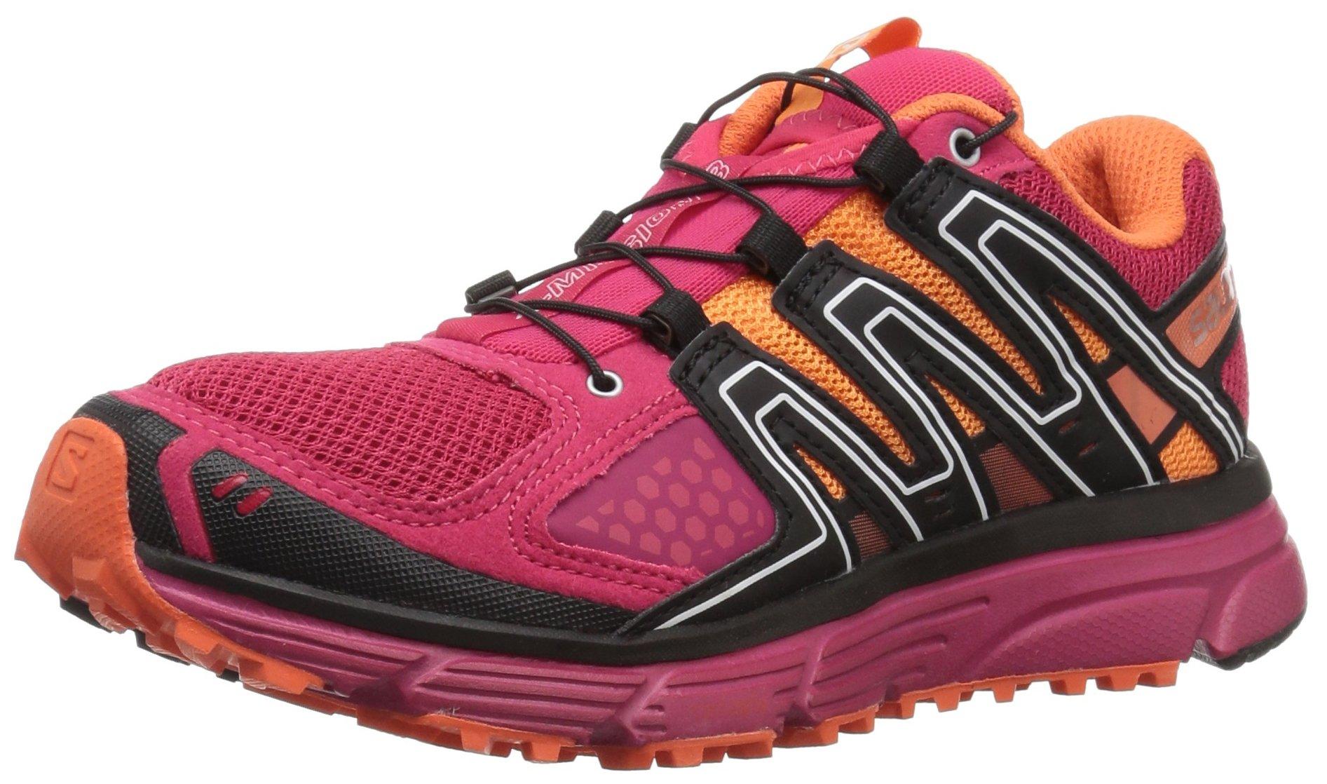 SALOMON Women's X-Mission 3 W Trail Running Shoe, Virtual Pink, 7.5 M US by SALOMON