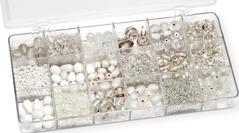 Gütermann / KnorrPrandell 6050000 - Caja con perlas de cristal ...