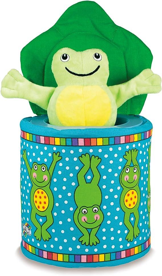 Galt Toys grenouille dans une boîte de jouet