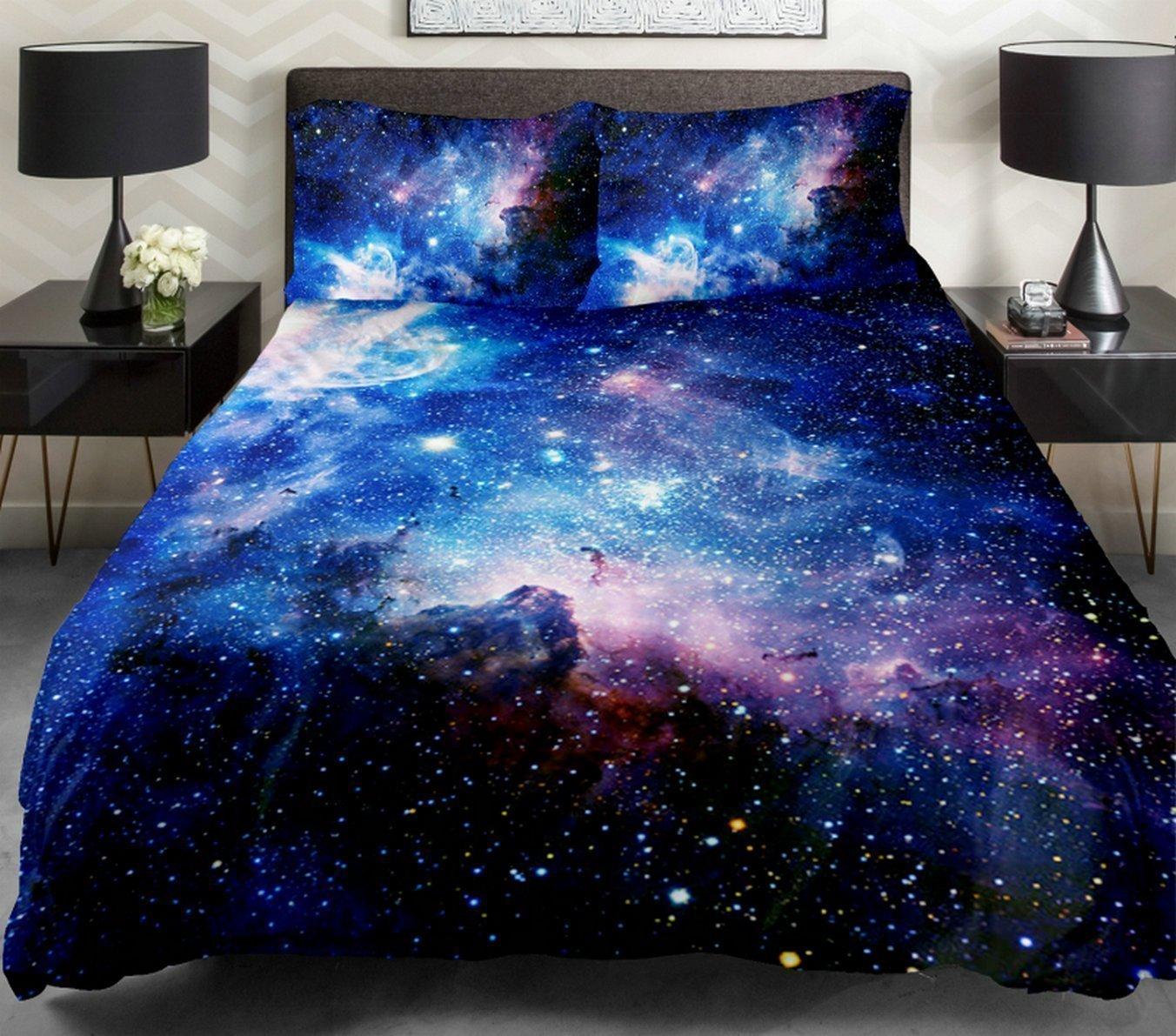 Anlye Queen Size Galaxy Bedding Set
