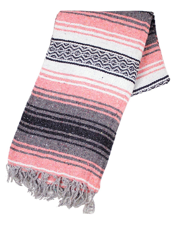 # 11ローズHoganクラシックメキシコヨガ瞑想Work Out Blanket Mat Throw Falsa B01N33BOH4