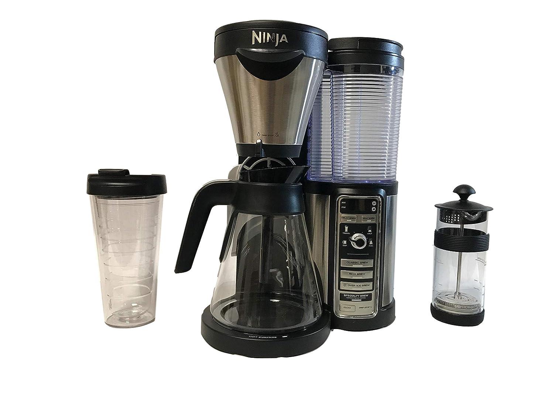 Amazon.com: Ninja Coffee Bar Auto-IQ CF080 Coffee Bar ...