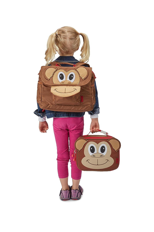 Bixbee Monkey Lunchbox Brown None 304026